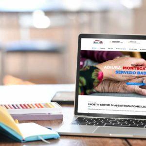template web agency adiura